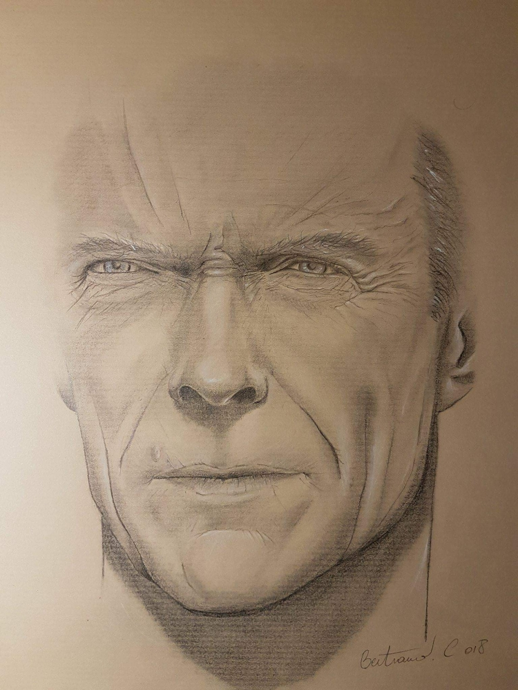 Clint Eastwood by Cedric08